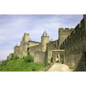 Cité de Carcassonne vue remparts