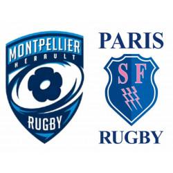 MHR - Stade Français tribune