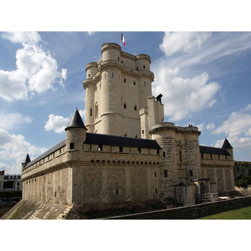 entrée réduite donjon château de Vincennes