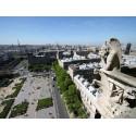 Vue ouest Tours Cathédrale de Paris