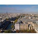 Vue Tours Cathédrale de Paris