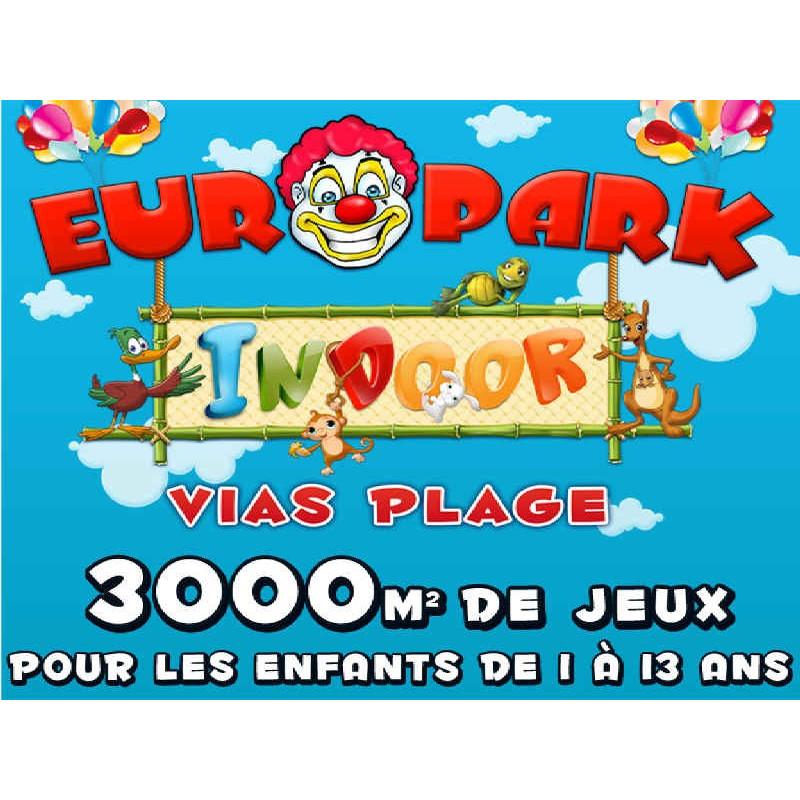 Entrée Europark Indoor Vias à 8€