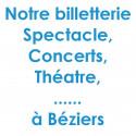 Réduction spectacles et concerts à Béziers