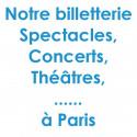 Réduction spectacles et concerts à Paris