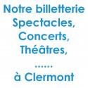 Réduction spectacles et concerts à Clermont Ferrand