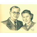 photo mariage sur dessin