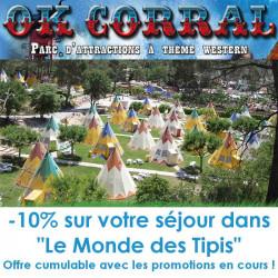 Code promo séjour OK Corral