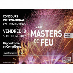 réduction place spectacle les masters de feu 2017