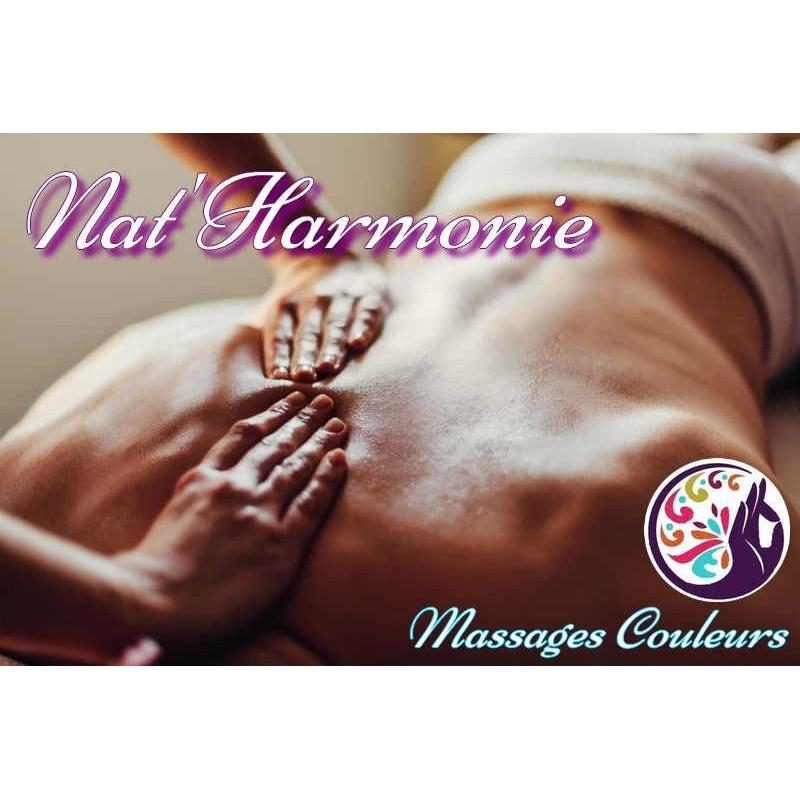 Réduction séance massage Nat'Harmonie massage couleur