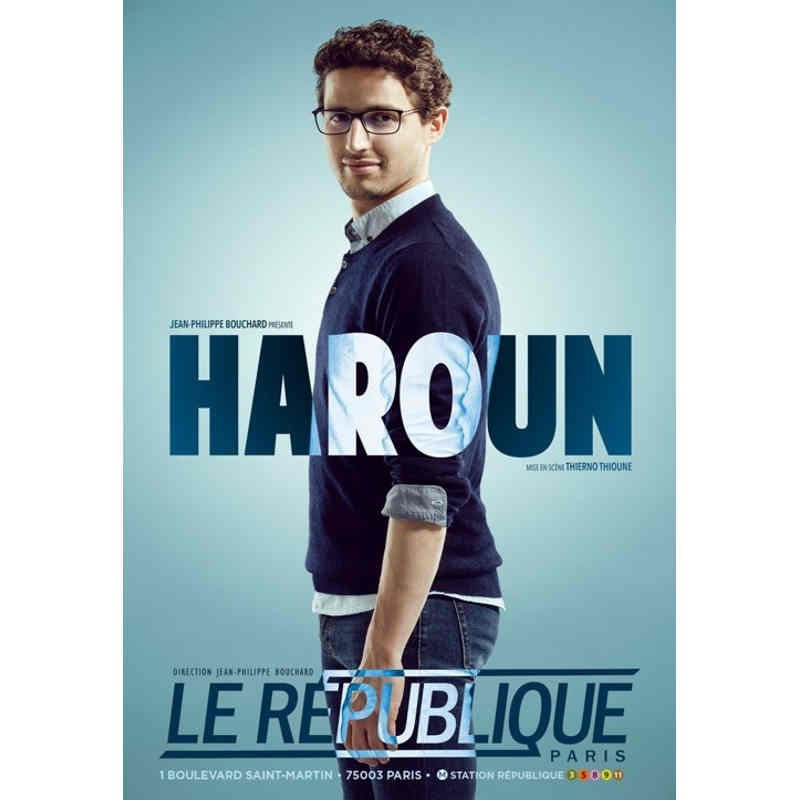Billet spectacle Haroun moins cher