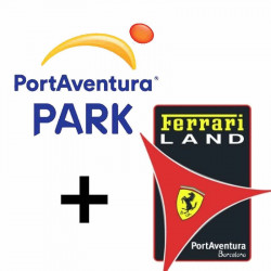 (E-Billet) Port Aventura + Ferrari Land