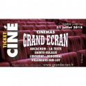 6,20€ Ticket cinéma Grand Ecran moins cher
