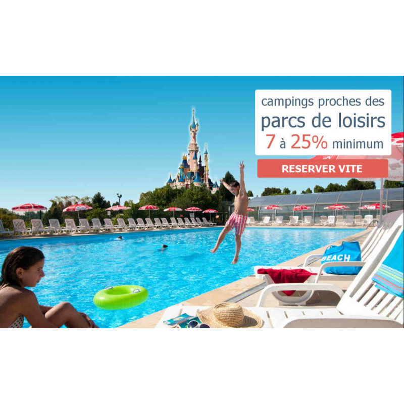 promotion camping Parc d'attraction