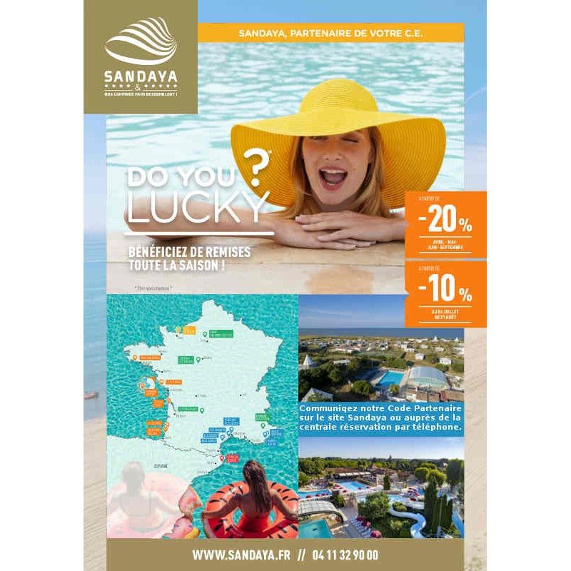 -20% réservation Camping Sandaya moins cher