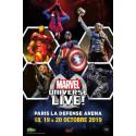 Billet moins cher pour Marvel universe