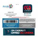 ticket CE place cinéma CGR pas cher 6,99€