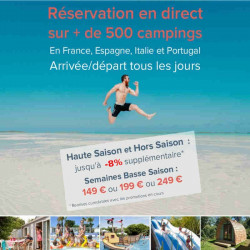 promotion réservation Camping moins cher