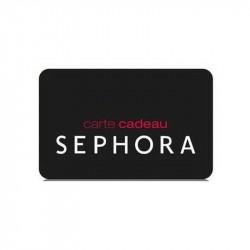 -6% Séphora carte cadeau