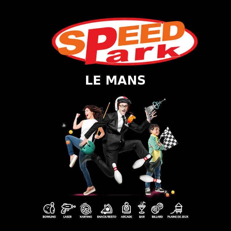 Tarif ticket à 6,50€ Jeux Laser Speedpark Le Mans