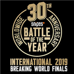 SNIPES BATTLE OF THE YEAR INTERNATIONAL 2019 MONTPELLIER