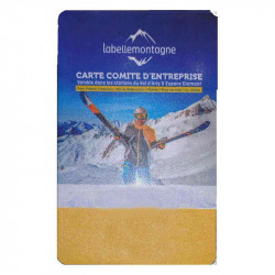 Carte rechargement Val Arly Espace Diamant