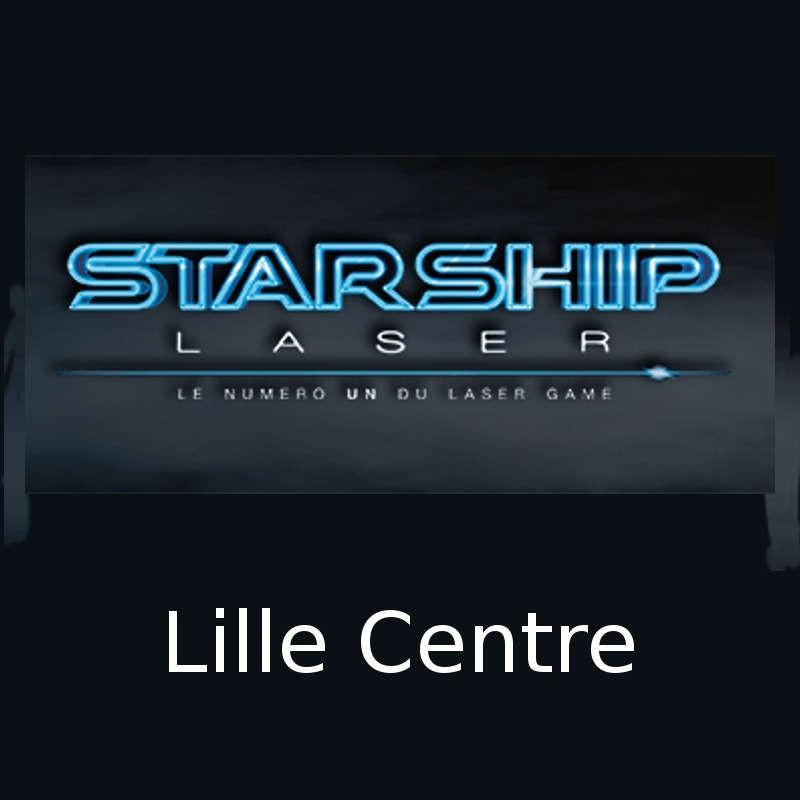 7,50€ Tarif ticket partie Starship Laser Lille