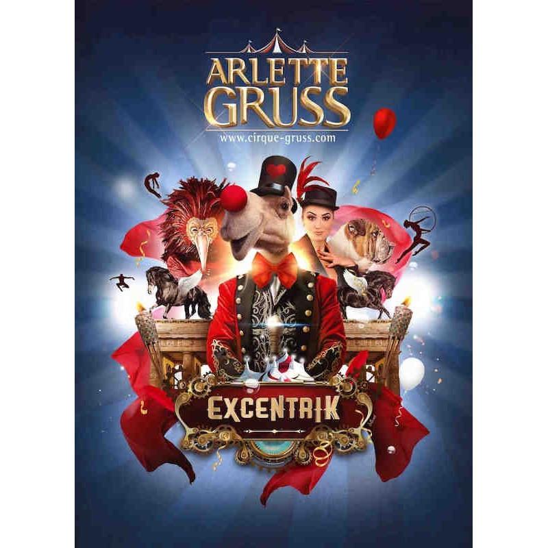 Réduction billet spectacle Cirque Gruss