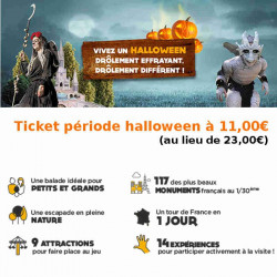Promo Halloween France Miniature