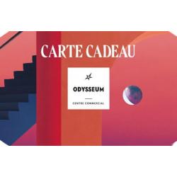 Carte Odysseum Montpellier