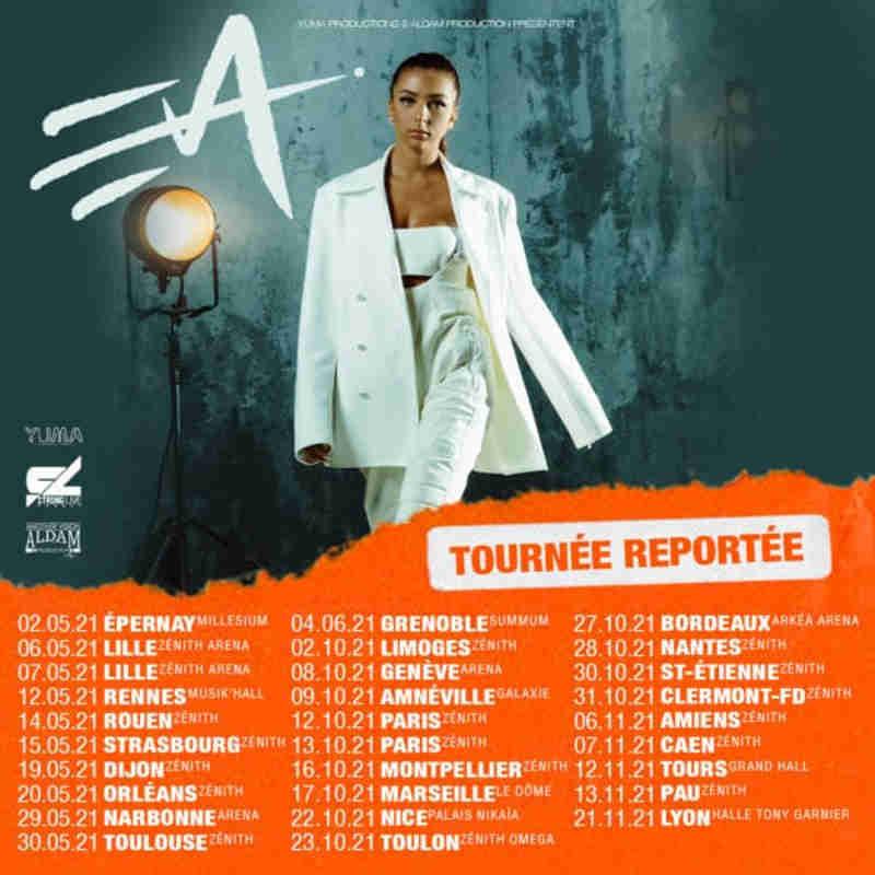 billet concert Eva
