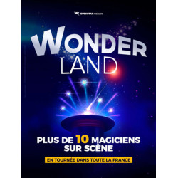 réduction billet spectacle Wonderland Magicien