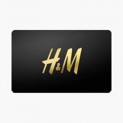 E-Carte Cadeau H&M - 5%