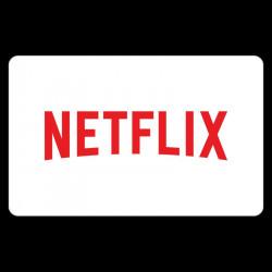 E-Carte Cadeau Netflix - 5%