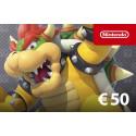 réduction -5% carte Nintendo eShop 50€