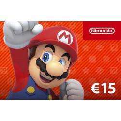 E-Carte Cadeau Nintendo eShop Card - 5%
