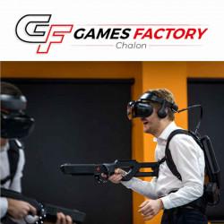 Jeu Réalité Virtuelle Chalon sur Saone Games Factory