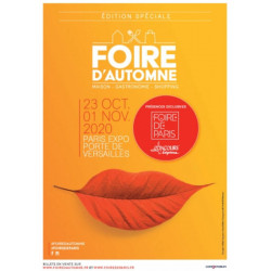 6,00€ réduction billet entrée Foire automne de Paris